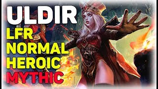 [LIVE] LFR/NM/HC/MYTHIC Uldir ! Restoration Druid! WoW Battle for Azeroth