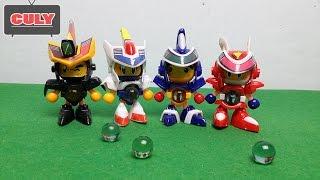 Robot bắn bi Bom Bom Man siêu nhân đồ chơi trẻ em toy for kid