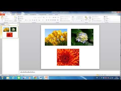 ภาพเคลื่อนไหว PowerPoint 2010