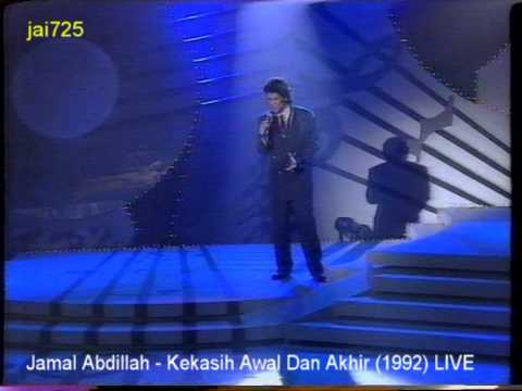 Jamal Abdillah - Kekasih Awal Dan Akhir (1992) LIVE