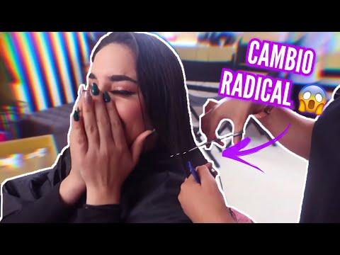 ME SUPER CORTO EL CABELLO✂️(CAMBIÓ DE LOOK😮) Kimberly Loaiza