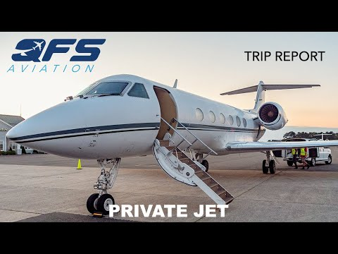 TRIP REPORT | Global Air Charters - Gulfstream IV - Roswell (ROW) to Westhampton Beach (FOK)