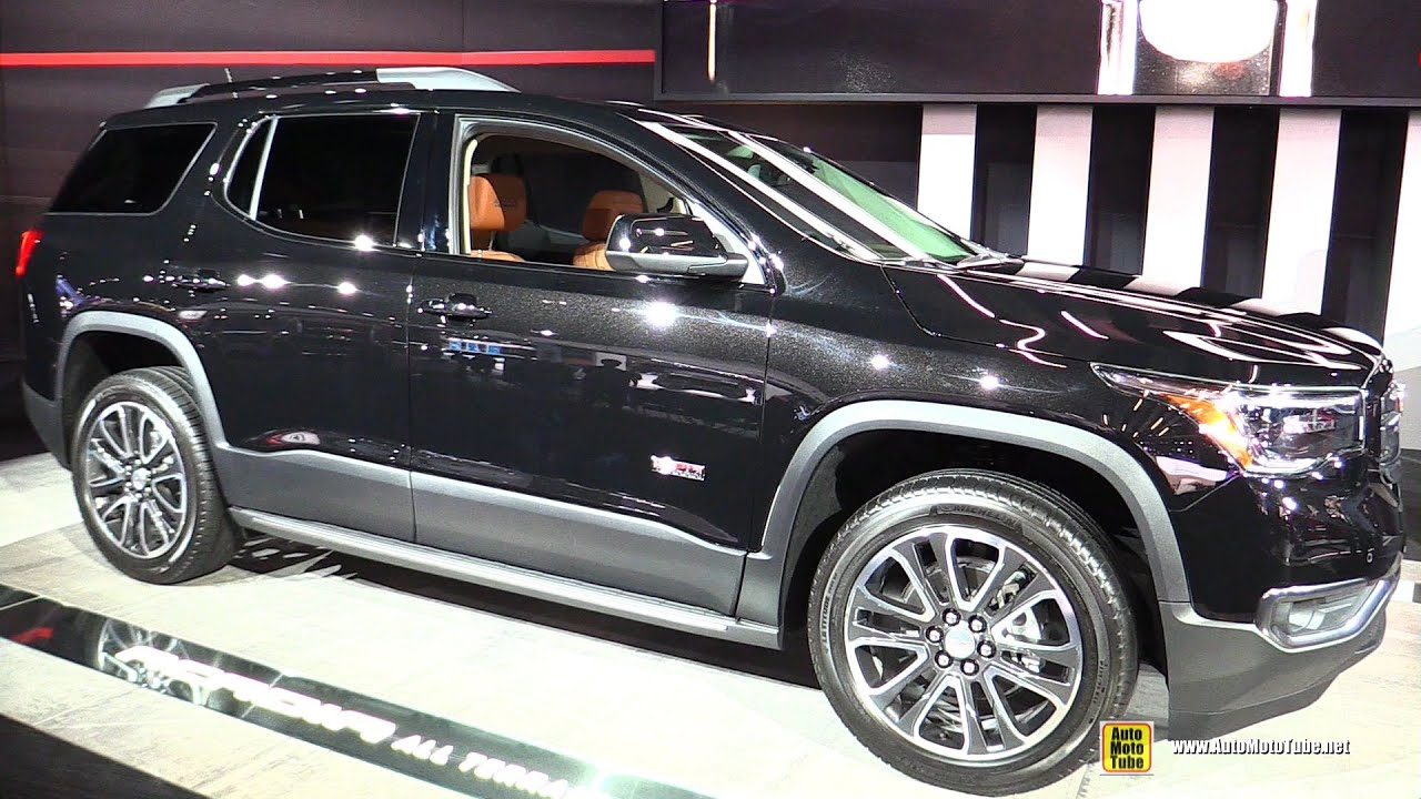 2017 gmc acadia all terrain exterior and interior. Black Bedroom Furniture Sets. Home Design Ideas