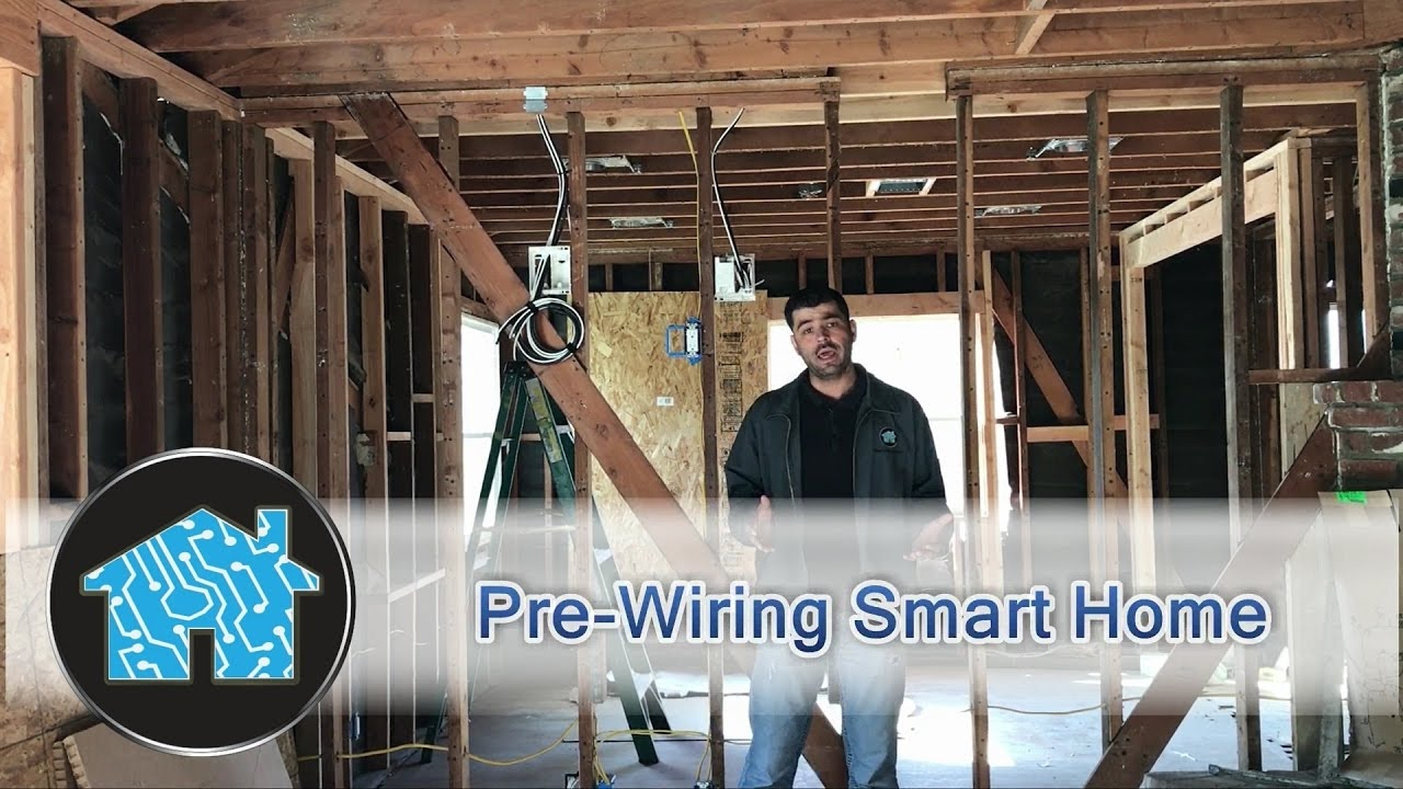 Smart Home Pre Wiring Youtube Log