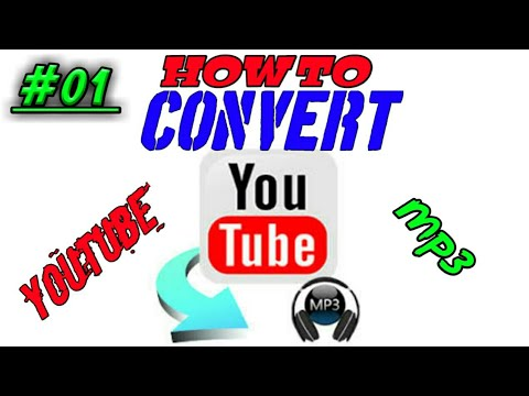 (#01) How to convert YouTube to mp3[High quality]..