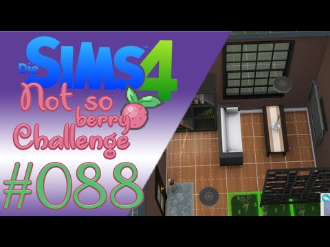 ★-#088-sims-4-not-so-berry-challenge---ein-modernes-haus-für-elsa-★