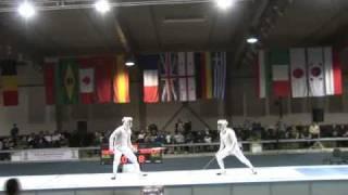 5022011 ms GP individual Plovdiv semifinal podium YAKIMENKO Alexey RUS 14 vs KOVALEV Nikolay RUS 15 sd No