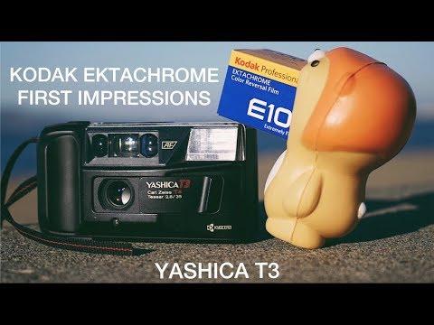 Kodak Ektachrome x Yashica T3 - FIRST IMPRESSIONS!