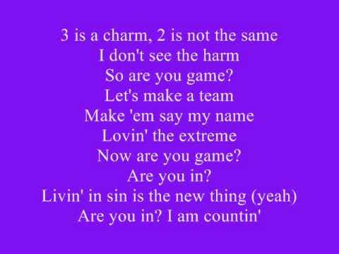 Britney Spears  3 Lyrics
