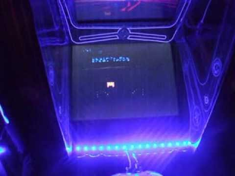 my home made xbox TRON cab with coinops 5 - YouTube