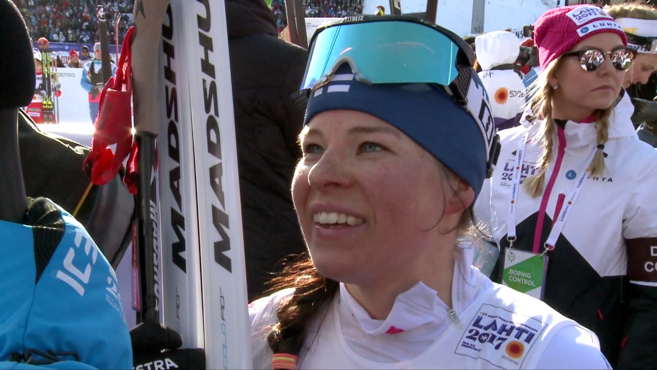 Krista Pärmäkoski, 25.2.2017, Lahti2017 - YouTube