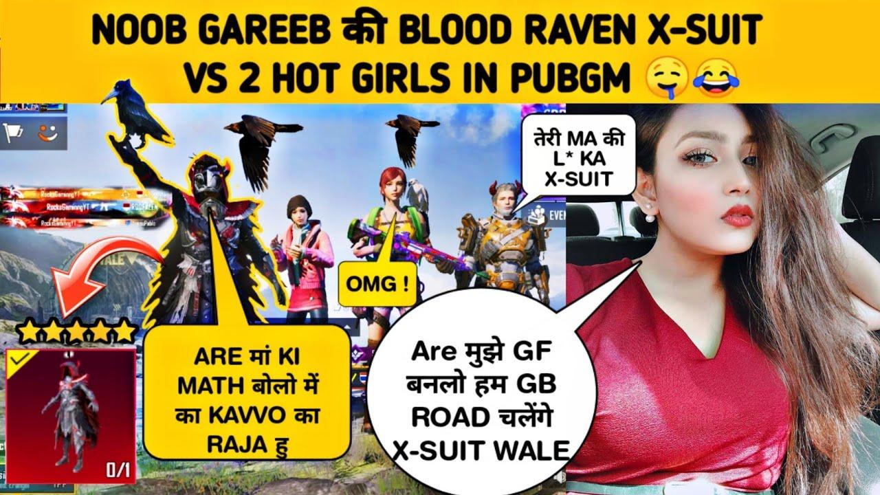 🔥RANDOM 2 HOT GIRLS REACT ON BLOOD RAVEN X-SUIT 😂- SAMSUNG,A3,A5,A6,A7,J2,J5,J7,S5,S6,S7,59,A10,A20