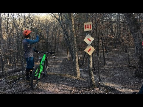Winter: Lars Sternberg and Tyler Horton Mountain Biking in Northwest Arkansas