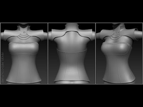 AngelRED Couture   Poison Armour & Corset Top TIMELAPSE CREATION