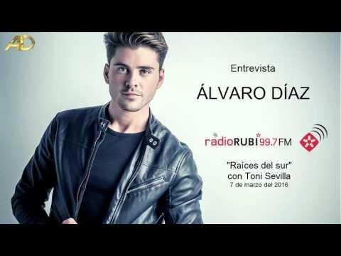Álvaro Díaz con Toni Sevilla en Radio Rubi