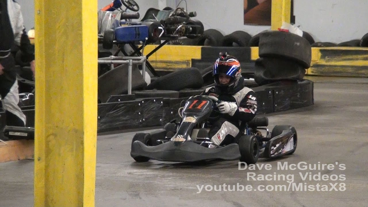 Andy Seuss in a World Formula Kart @ CFIK - YouTube