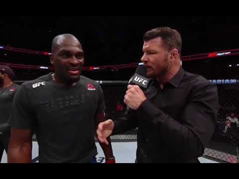 UFC Оттава: Дерек Брансон - Слова после боя