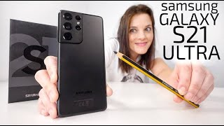 Samsung Galaxy S21 ULTRA -UNBOXING + S-PEN-