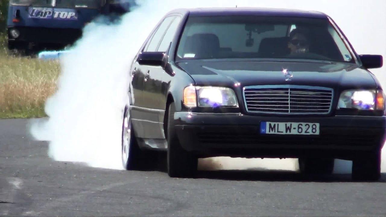 Ето какво може един Mercedes S 600 V12 Biturbo! - (ВИДЕО)