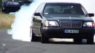 Download Mercedes S 600 V12 Biturbo 0-270km/h acceleration, and burnout || KO 860 Mp3 and Videos