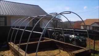 "How to Build a Greenhouse Part2 ""The Skeleton"" by HPFirearms"