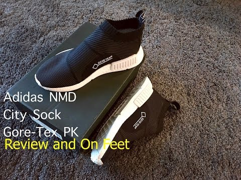 Adidas NMD Gore Tex City Sock 'CS1' Review and On Feet 4K