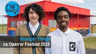 Stranger Things na Open'er Festival 2019