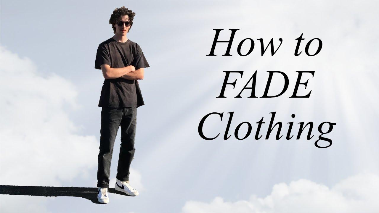 how to SUN-BLEACH clothes