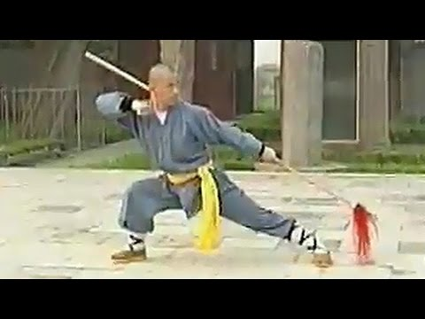 Shaolin kung fu 13 spear