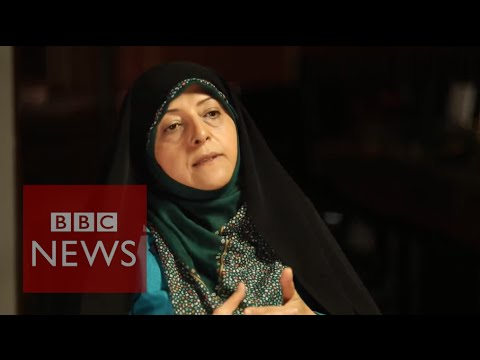 Iran Nuclear deal 'will help promote peace' says VP Masoumeh Ebtekar - BBC News on YouTube