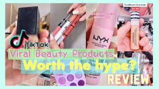 TikTok Viral Makeup Products ✨WORTH THE HYPE? ✨ ОБЗОР