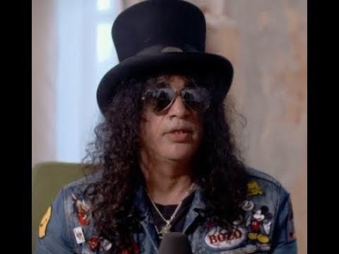 Guns N' Roses Slash Talks New Guns N' Roses Album!