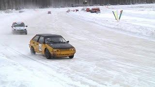 Соревнования по зимним трековым автогонкам