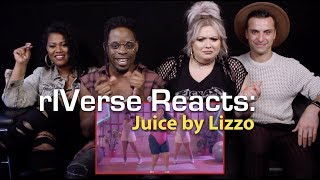 rIVerse Reacts: Juice by Lizzo - M/V Reaction