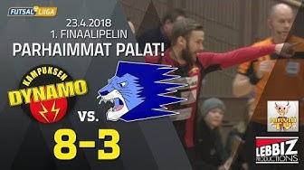 KaDy - Leijona Futsal 1.finaali 23.04.2018 HIGHLIGHTS!