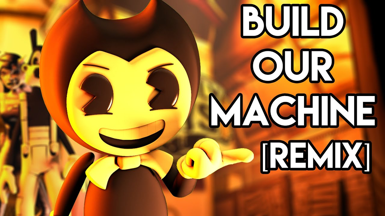 3D Sfm Videos bendy and the ink machine song: build our machine [remix] sfm music video