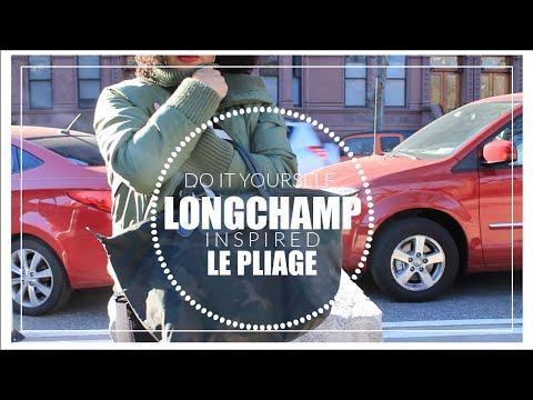 DIY LONGCHAMP LE PLIAGE TOTE BAG