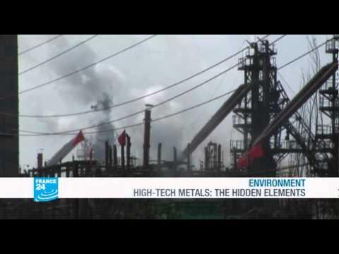 FRANCE 24 Environment - High-Tech metals: hidden elements