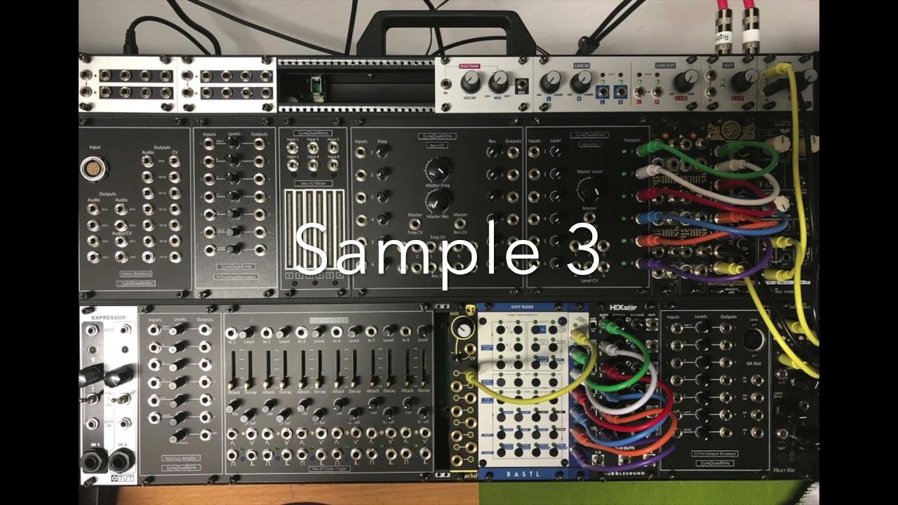 GK-13 Demo System Recordings by Rick Burnett