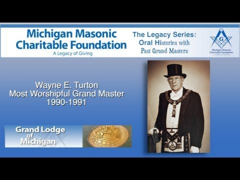 Grand Master Wayne E. Turton 1990-1991