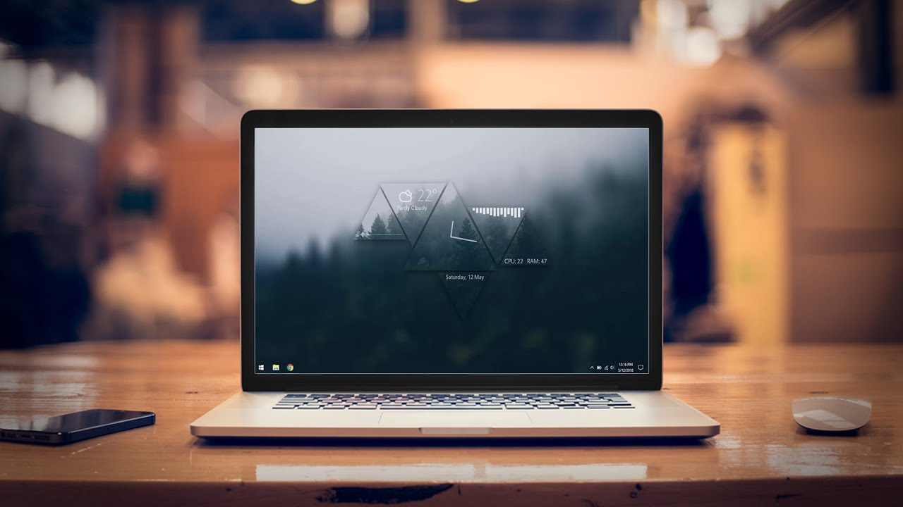 forest desktop make windows look better youtube