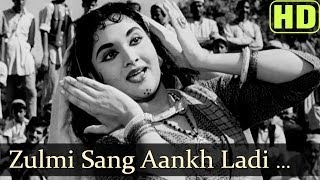 Zulmi Sang Aankh Ladi (HD) - Madhumati Songs - Dilip Kumar - Vyjayantimala - Lata Mangeshkar