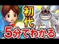 5分でわかる初代妖怪ウォッチ!イケボすぎるウィスパーと人間界の征服をたくらむイカカモネ議長!ニンテンドー3DSのゲーム「妖怪ウォッチ」の原点 Yo-kai Watch