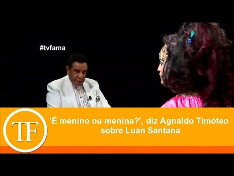 'É menino ou menina?', diz Agnaldo Timóteo sobre Luan Santana thumbnail