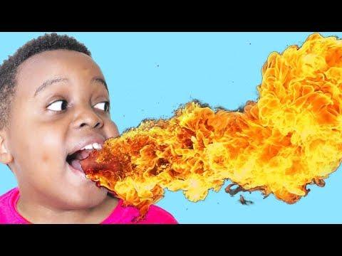 Shiloh's Mouth IS LAVA!!! - Hot Sauce Challenge - Shasha Onyx Kids