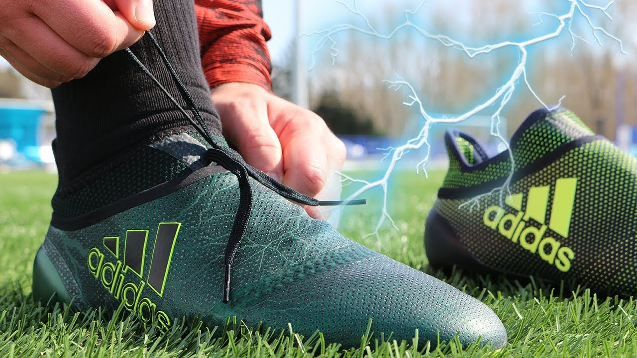 eba7817d3dab Best adidas Boot  X17 + PureSPEED Thunderstorm - YouTube