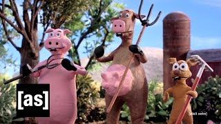 Bulls Don't Cry | Robot Chicken | Adult Swim
