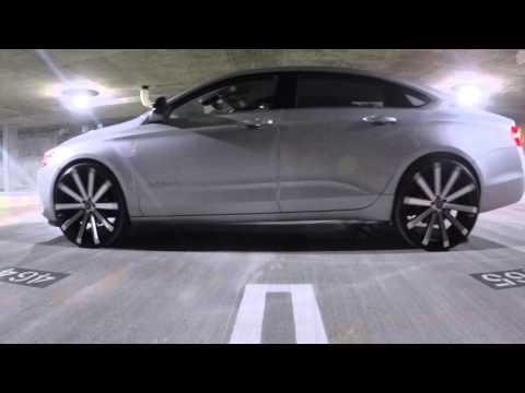 2015 Chevy Impala on 24's Velocity VW12 - Cruising the Town