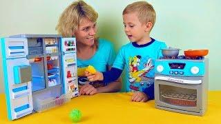 Весёлая Кухня для детей - Сборник интересных серий. Курносики Junior