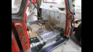 1966 Chevy C10 restoration.